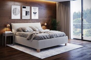 Aneta  I. -čalouněná postel s úl.prostorem