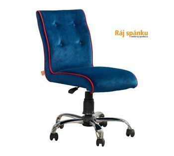 Židle Modrá otočná  21.08.8471.00