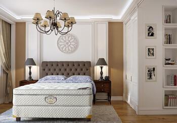 Q2 Luxusní boxspringová postel amerického typu.