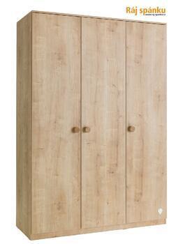 Mocha Šatní skříň 3-dveřová 20.30.1002.00
