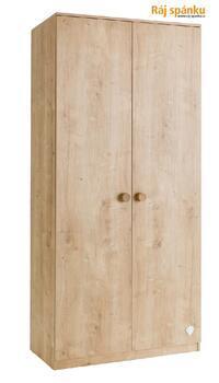 Mocha Šatní skříň 2-dveřová 20.30.1001.00