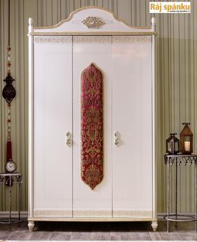 Sultan Šatní skříň 3-dveřová 20.38.1002.00