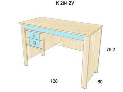 Bořek Psací stůl K 1008 22 - 1