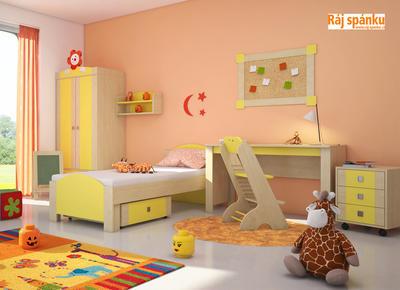 Bořek - variabilní dětský pokojík - 1
