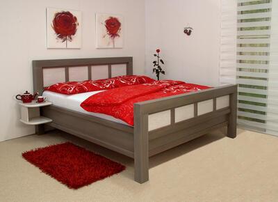 Charlotte masivní postel - 1