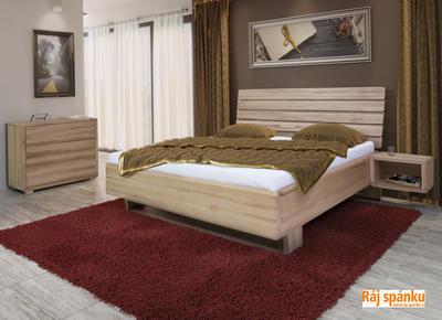 FL1- celomasivní postel - 1