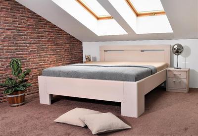 Hollywood 3 vysoká celomasivní postel - 1