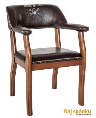 Židle Black Pirate Plus 21.08.8461.00 - 1