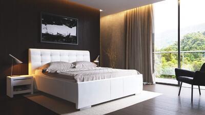 Dela I celočalouněná postel, 160x200 | 2. cenová skupina - 1