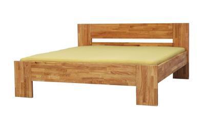 MAX masivní postel, 180x200 | 50 cm | Cherry - 1