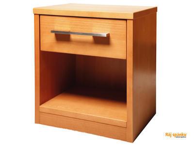 Noční stolek 1 zásuvka - 1