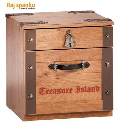 Black Pirate Noční stolek 20.13.1601.00 - 1