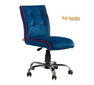 Židle Modrá otočná  21.08.8471.00 - 1