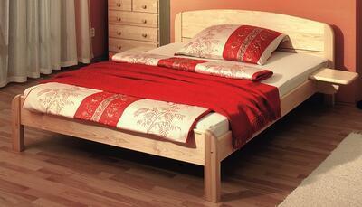 Berghen - postel ze smrkového masivu - 1