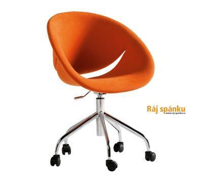 Židle Relax oranžová 21.08.8409.00