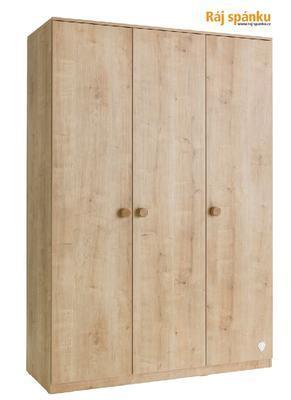 Mocha Šatní skříň 3-dveřová 20.30.1002.00 - 1