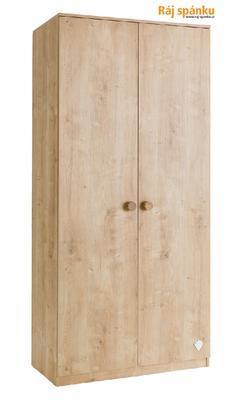 Mocha Šatní skříň 2-dveřová 20.30.1001.00 - 1