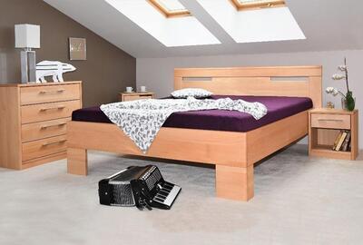 Varezza 5 vysoká postel, 140x200 | 8-Olej šedá