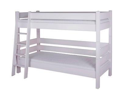 Sendy - patrová postel bílá - 2