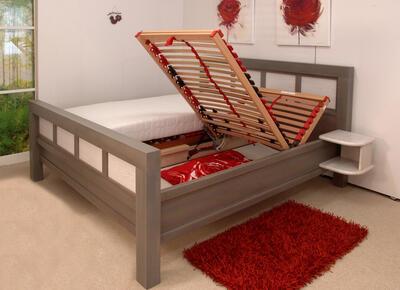 Charlotte masivní postel - 2