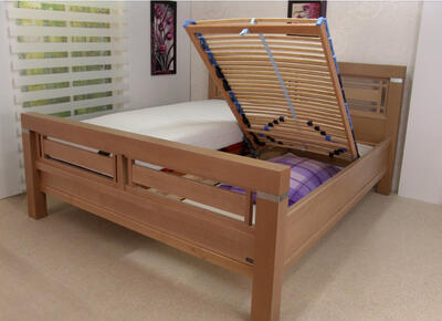 Elisabeth masivní postel - 2