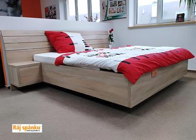 Flora postel s nočními stolky - 2