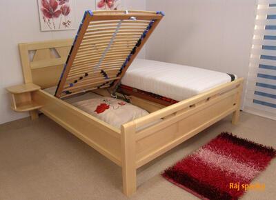 Juliana masivní postel - 2