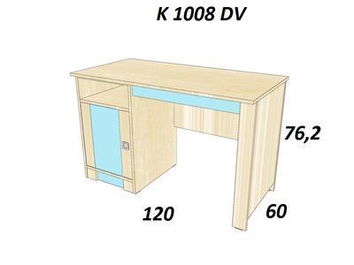 Bořek Psací stůl K 1008 DV - 2