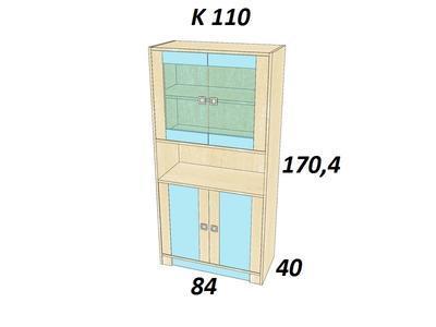 Bořek K 110. Skříň vysoká - 2