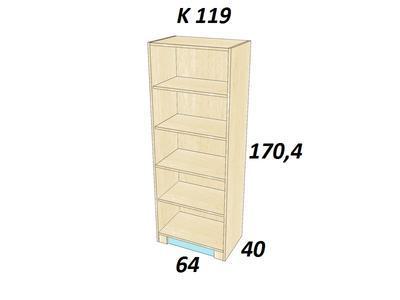 Bořek K 119. Skříň vysoká - 2