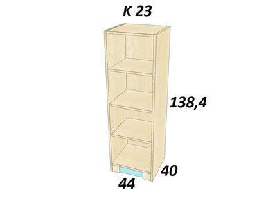 Bořek K 23  Skříň středně vysoká - 2