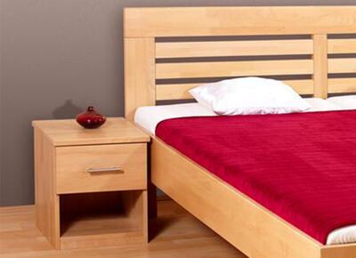 Leona 2 Buková postel - 2