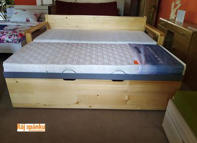 Alika II.  Rozkládací postel s úložným prostorem - 2