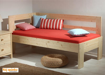 Hanny  smrková postel - 2