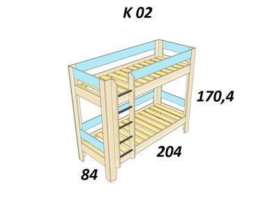 Bořek Patrová postel - 2