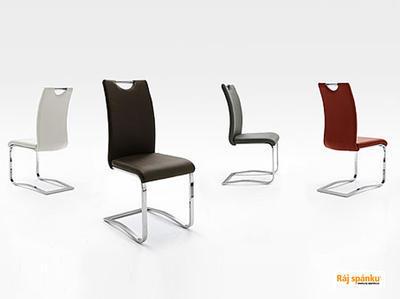Koeln Jídelní židle s odpruženou podnoží - 2