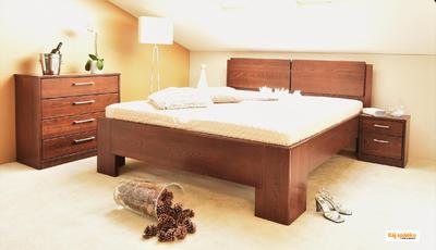 Manhattan masivní postel - 2