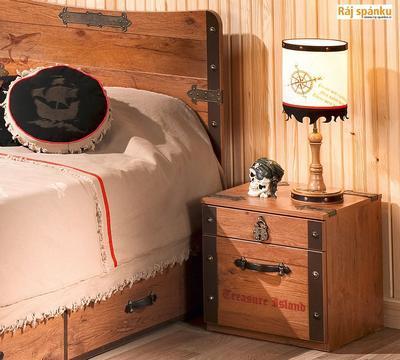 Black Pirate Noční stolek 20.13.1601.00 - 2