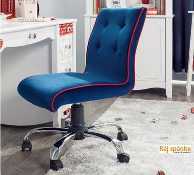 Židle Modrá otočná  21.08.8471.00 - 2