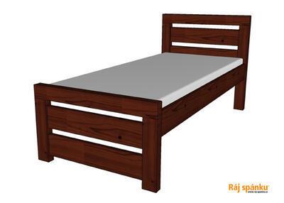 Rhino I. smrková postel - 2