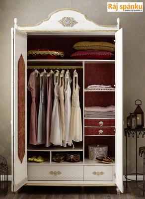 Sultan Šatní skříň 3-dveřová 20.38.1002.00 - 2
