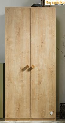 Mocha Šatní skříň 2-dveřová 20.30.1001.00 - 2