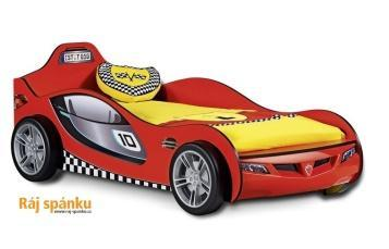 Přehoz Racer žlutý + 2 polštářky 21.04.4457.00 - 2