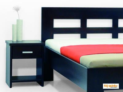 Sylvie masivní postel - 2