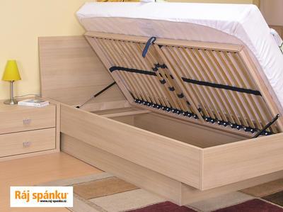 Novako postel s úložným prostorem - 2