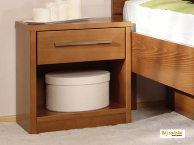 Noční stolek 1 zásuvka - 2