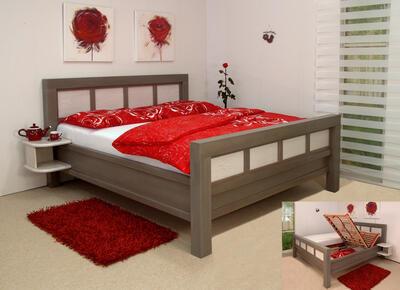 Charlotte masivní postel - 3