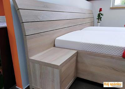 Flora postel s nočními stolky - 3
