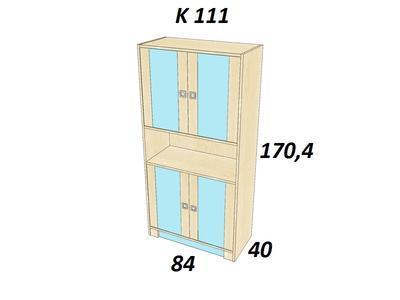 Bořek K 111. Skříň vysoká - 3