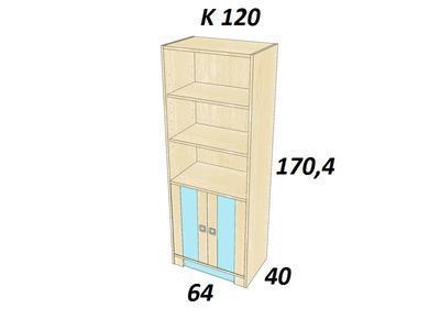 Bořek K 120. Skříň vysoká - 3